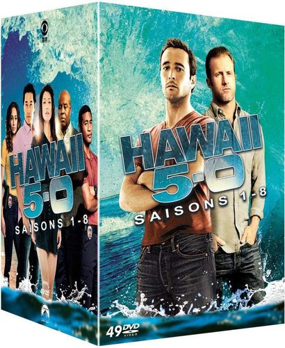 Hawaii Five-0 (5-O) Box - Die komplette Staffel/Season 1,2,3,4,5,6,7,8 [DVD] 1-8