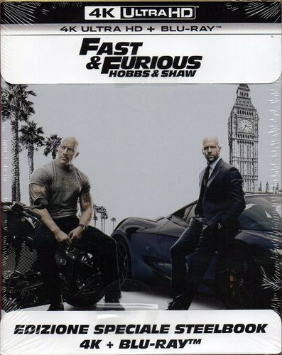 Fast & Furious: Hobbs & Shaw [4K Ultra HD] limited Steelbook (Deutscher Ton)