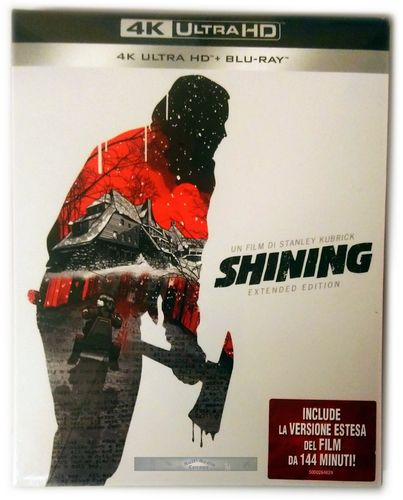 Shining - Extended Edition [4K Ultra HD+Blu-Ray] Jack Nicholson (Deutscher Ton)