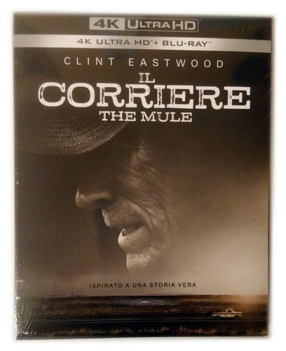 The Mule [4K Ultra HD+Blu-Ray] Clint Eastwood Schuber (Deutscher Ton) EU-Import