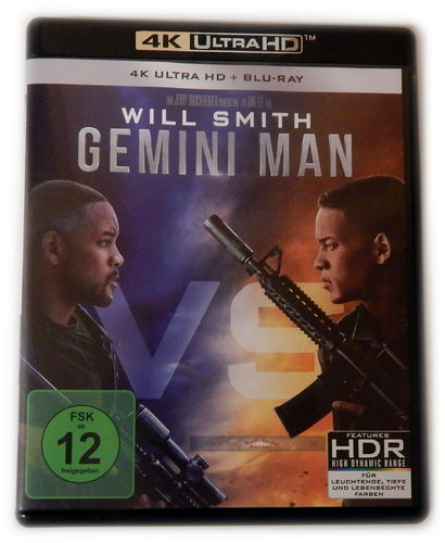 Gemini Man [4K Ultra HD+Blu-Ray] Will Smith (Dolby Atmos)