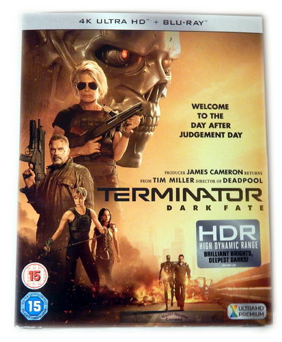 Terminator - Dark Fate [4K Ultra HD+Blu-Ray] Schuber (Deutscher Ton)