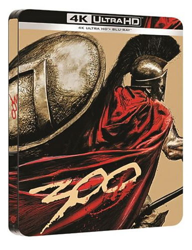 300 [4K Ultra HD+Blu-Ray] limited Steelbook (ab 06.11.20) EU-Import (Deutscher Ton)