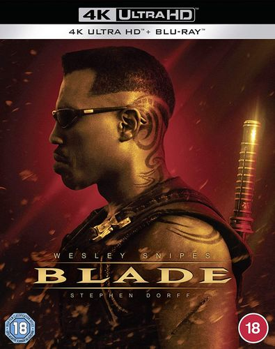 Blade [4K Ultra HD+Blu-ray] Wesley Snipes, Stephen Dorff (EU-Import, Deutscher Ton) ab 09.12.2020