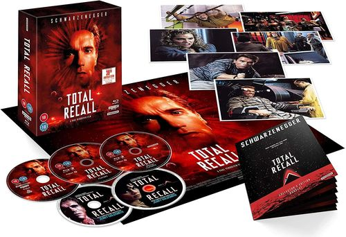 Total Recall [4K Ultra HD+Blu-Ray] 5-Disc Collectors Edition (Deutscher Ton)