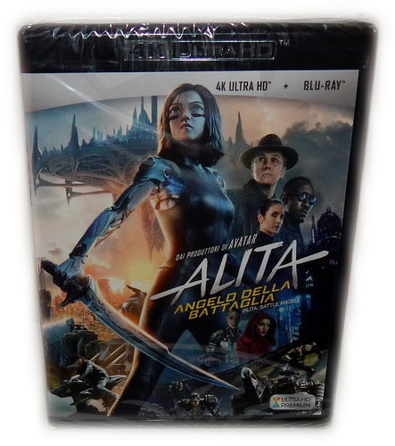 Alita - Battle Angel [4K Ultra HD+Blu-Ray] (EU-Import, Deutscher Ton)