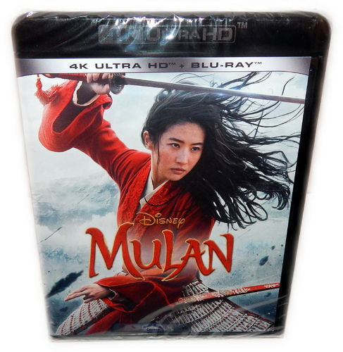 Mulan Live Action [4K Ultra HD+Blu-Ray] Realverflmung (EU-Import, Deutscher Ton) Walt Disney