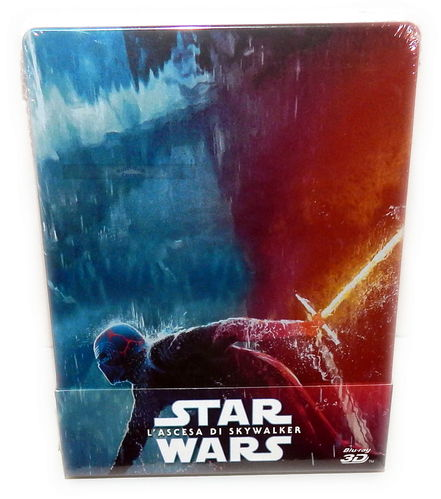 Star Wars Der Aufstieg Skywalkers [3D+2D Blu-Ray] limited Steelbook (Deutscher Ton, EU-Imp.)