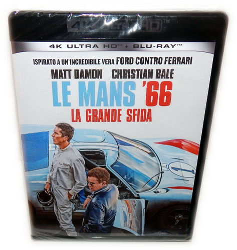 Le Mans 66 [4K Ultra HD+Blu-Ray] (EU-Import, Deutscher Ton)
